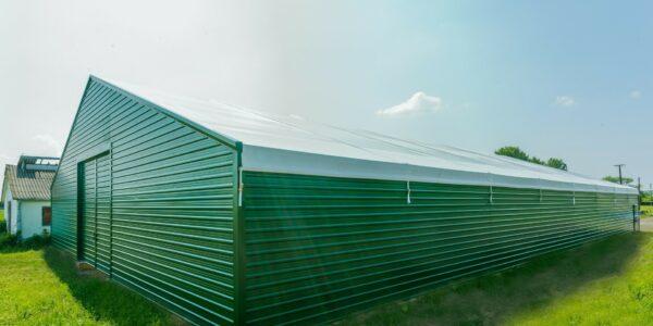 Hala namiotowa dla rolnictwa wHabdzinie