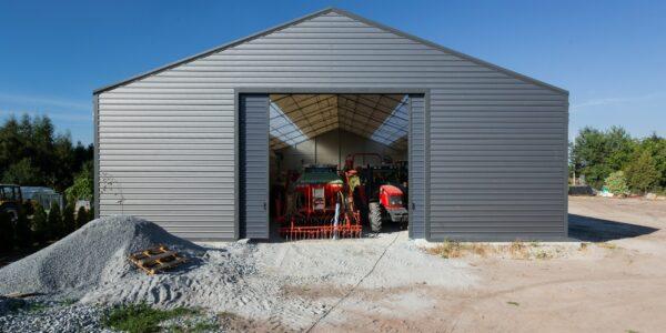 Hala namiotowa rolnicza—Kopanie