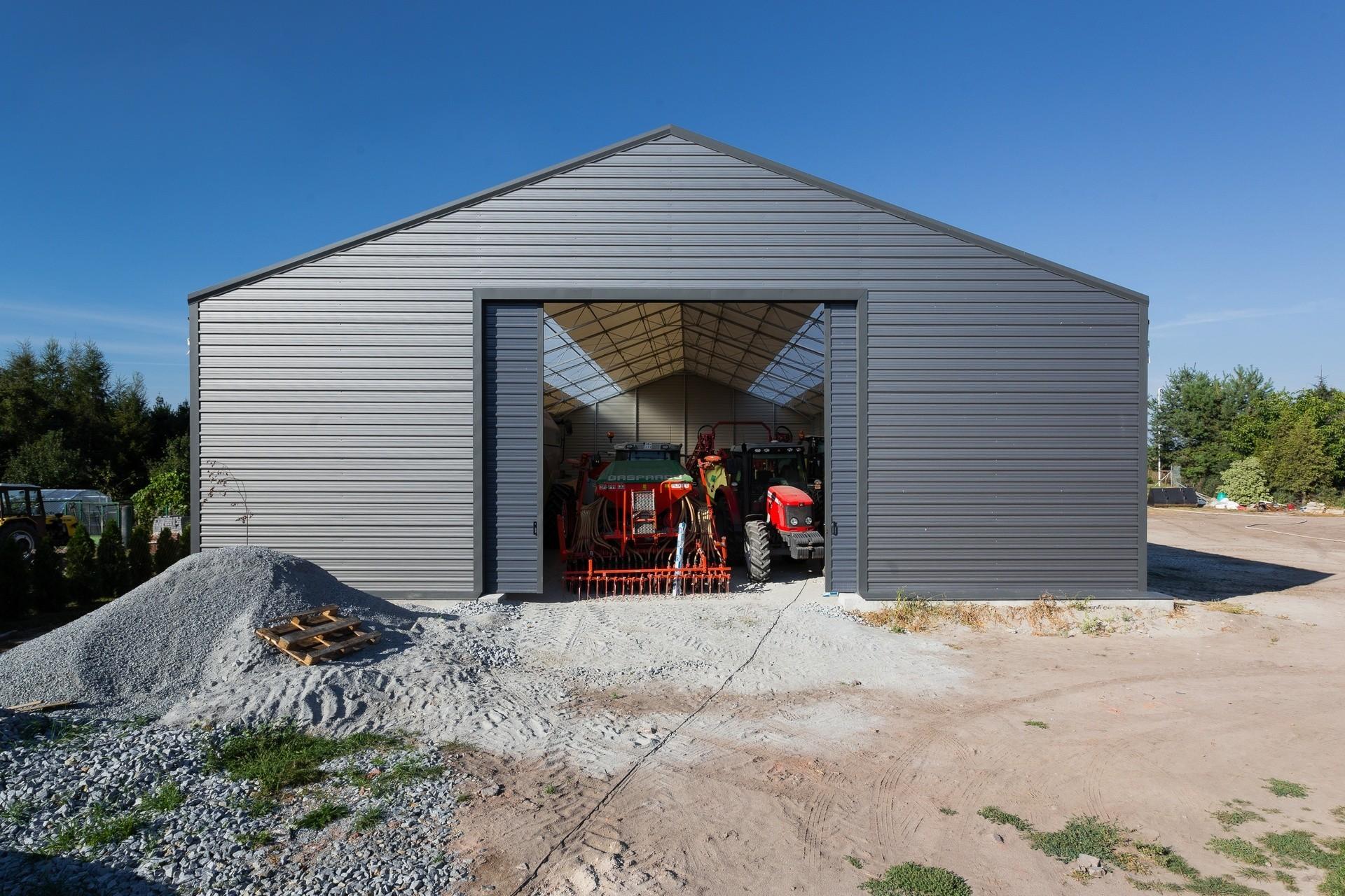 Hala namiotowa rolnicza - Kopanie