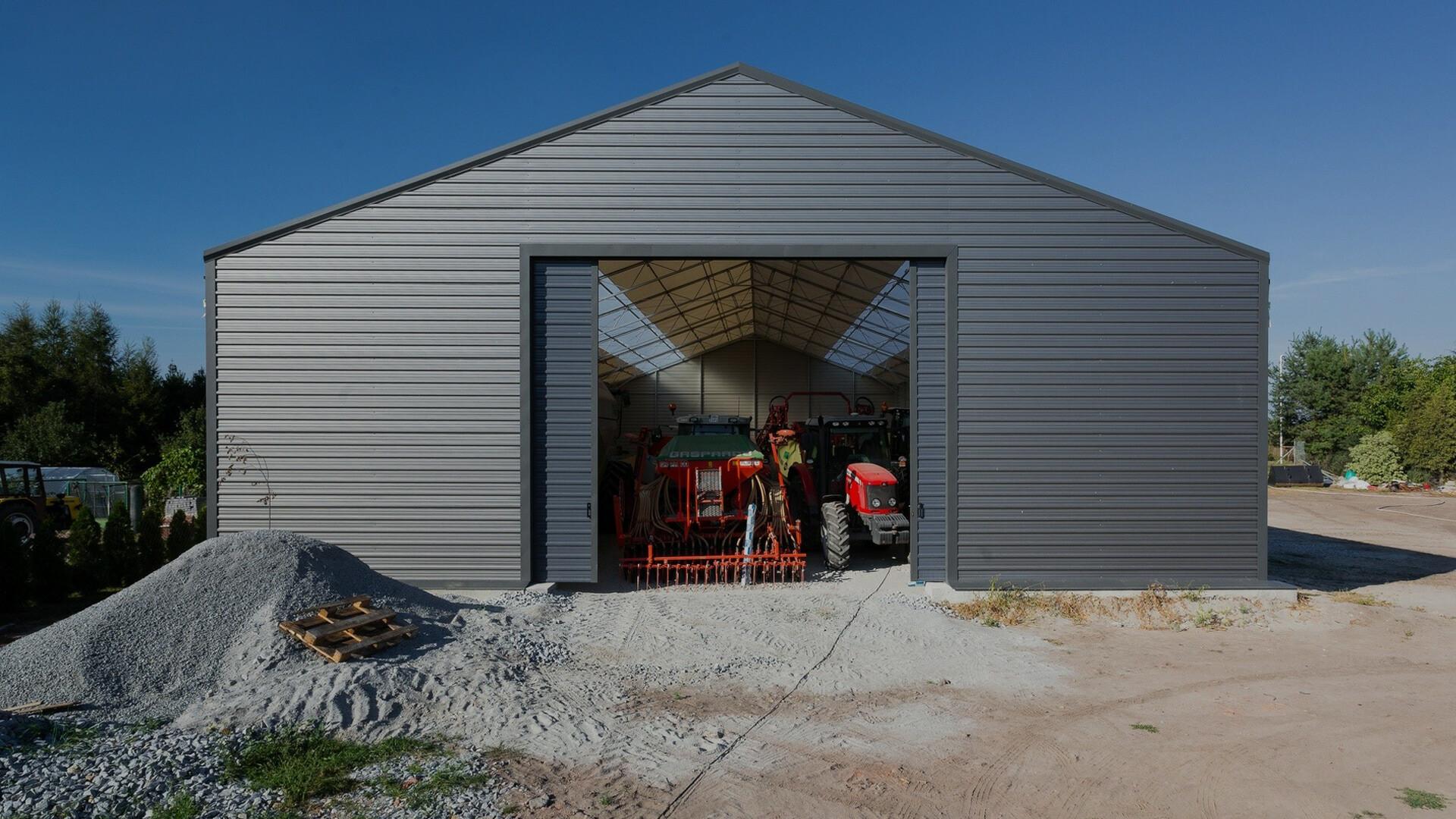 hale na maszyny rolnicze