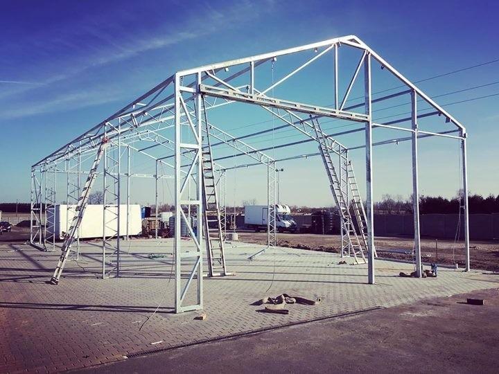 montaż konstrukcji stalowej - Wolsztyn